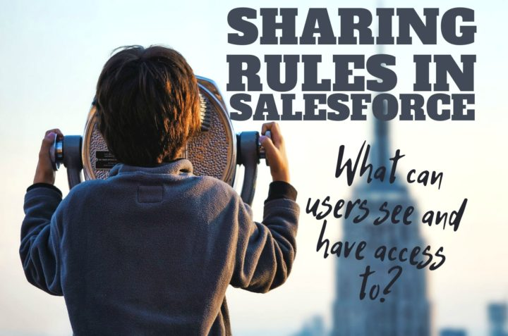 All There is to Data Accessibility & Sharing Rules in Salesforce